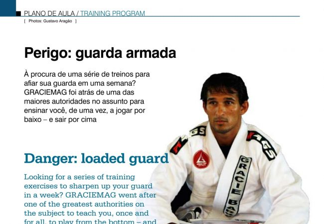 Training Program: Attacks from the guard with Jefferson Moura