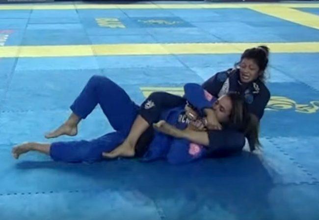 Jiu-Jitsu: Bia Basílio e seu arco e flecha pelo ouro absoluto do Vitória Open