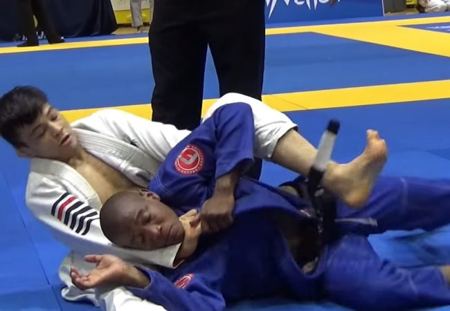 BJJ: João Miyao's golden choke at the Orlando Open