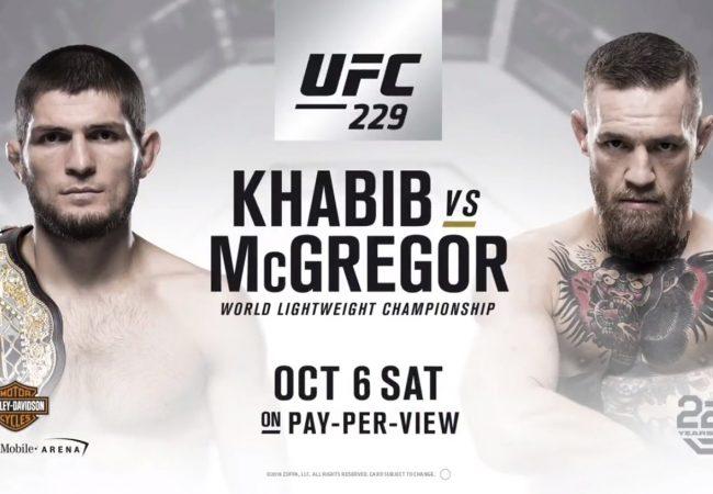 Confirmado: Conor McGregor e Khabib Nurmagomedov medem forças no UFC 229