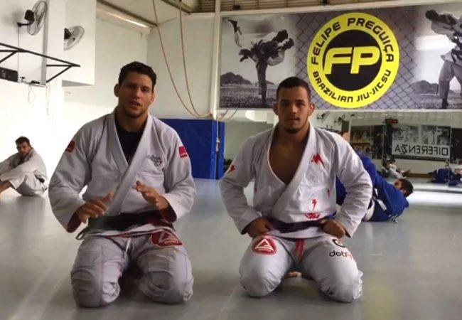 Vídeo: Felipe Preguiça ensina drill de reposição de guarda no Jiu-Jitsu
