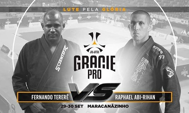 Fernando Tererê will face Raphael Abi-Rihan at Gracie Pro