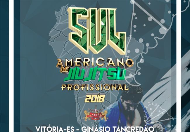 Vitória recebe o Sul-Americano BJJ Pro 2018 em 22 de setembro