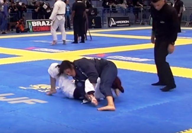 Video: Bia Basílio's winning kimura from the Floripa Open
