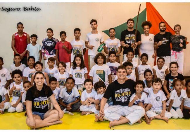 Jiu-Jitsu na Estrada: capoeira, boxe e Jiu-Jitsu somam forças em Porto Seguro