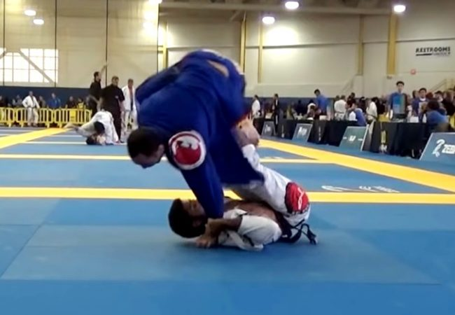 BJJ: Jamil Hill's sweep with armbar from the Washington Open