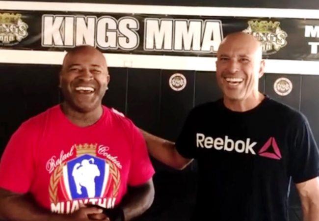 """Royce Gracie e Rafael Cordeiro relembram primórdios do MMA: """"Lutávamos pela honra"""""""