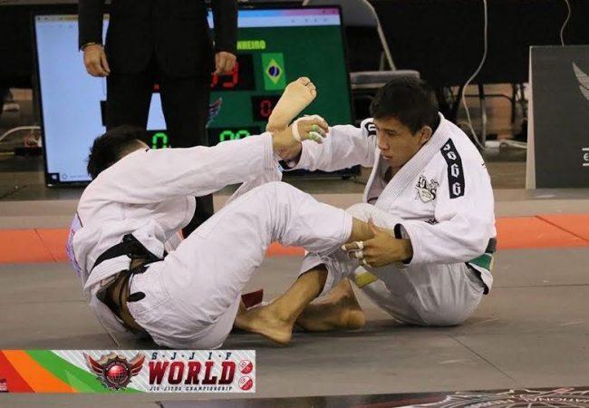 Lucas Pinheiro vibra com ouro duplo no SJJIF World Jiu-Jitsu Championship 2018