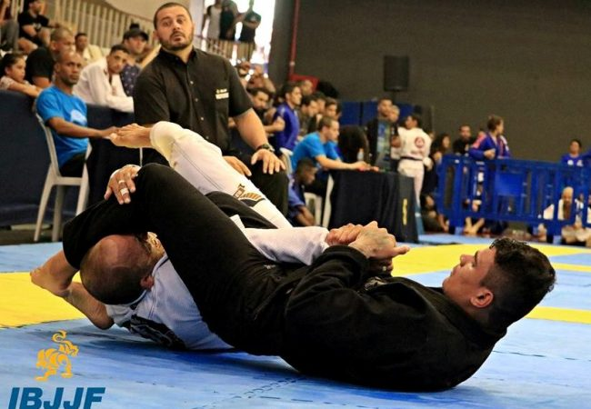 Rudson Mateus's flying armbar at the Rio BJJ Pro