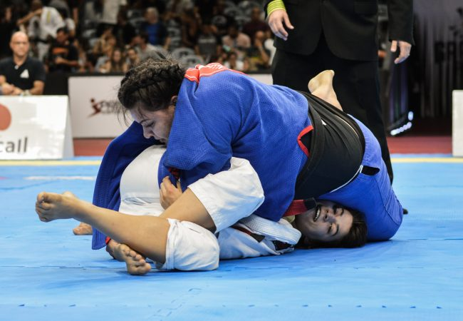 Pressure and precision: Tayane Porfírio's armbar at Gracie Pro '18