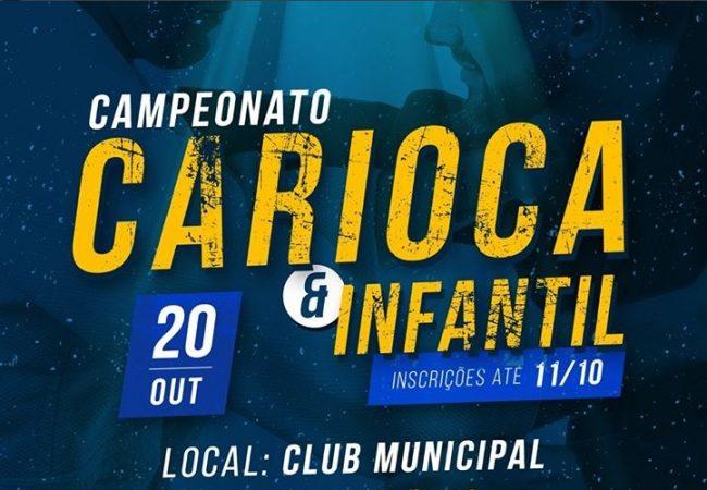Inscrições para o Campeonato Carioca da FJJ-Rio se encerram nesta quinta-feira