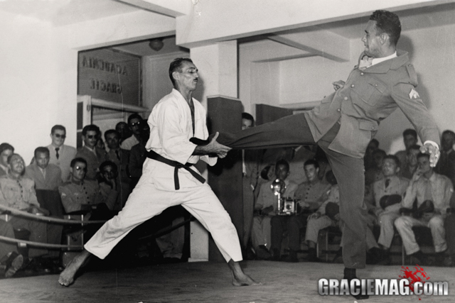 The samurai Helio Gracie and his seven duels with death