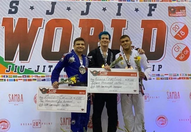 Keenan Cornelius and Tayane Porfírio win again at SJJIF Worlds