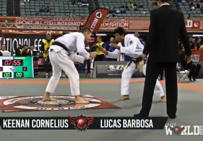 Cornelius vs. Hulk: the clash of teammates at the '17 SJJIF World Jiu-Jitsu Championship