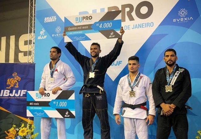 Luan, Jessica, Erberth, Rudson, Hiago e mais campeões do Rio BJJ Pro