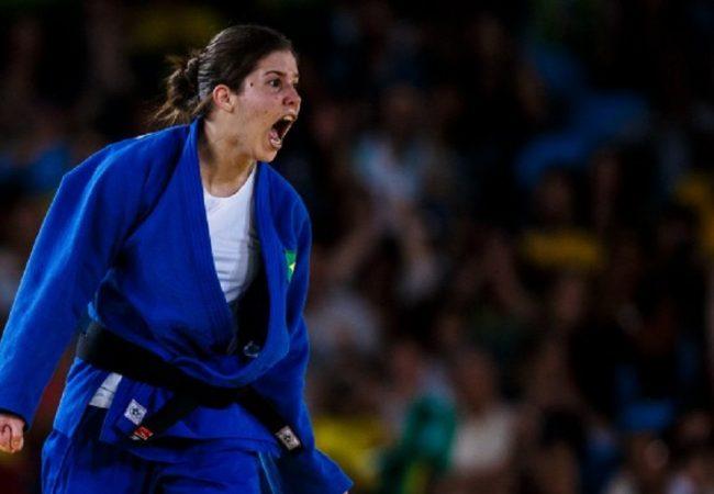Alana Maldonado conquista ouro inédito no Mundial de Judô Paralímpico