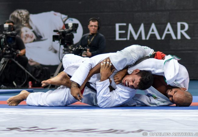 Erberth Santos's winning choke at A.D. Grand Slam Rio