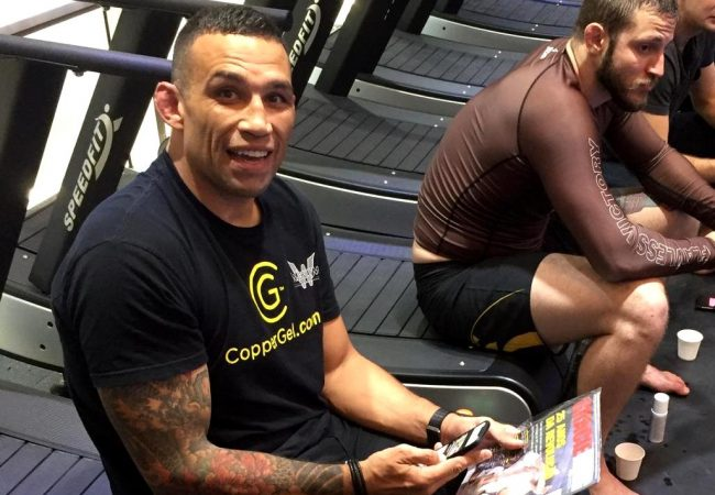 Fabrício Werdum's no-gi training for the Spyder Invitational