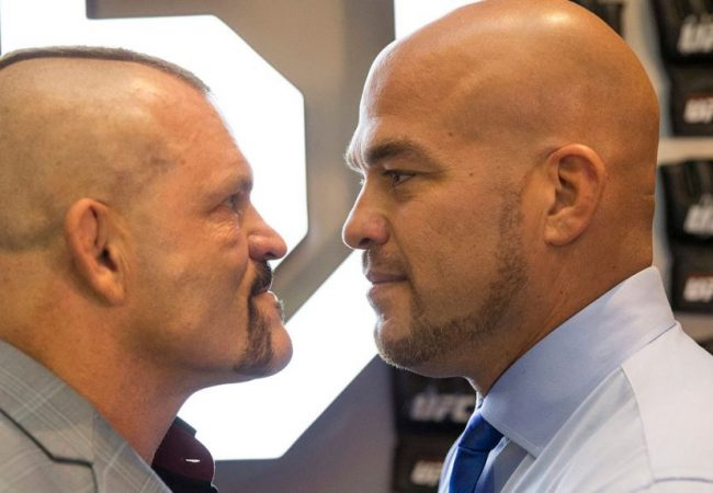 Combate exibe Chuck Liddell x Tito Ortiz ao vivo neste fim de semana