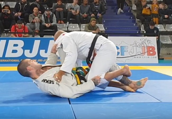 The Moldavian black-belt's lightning-fast finish at the Paris Open