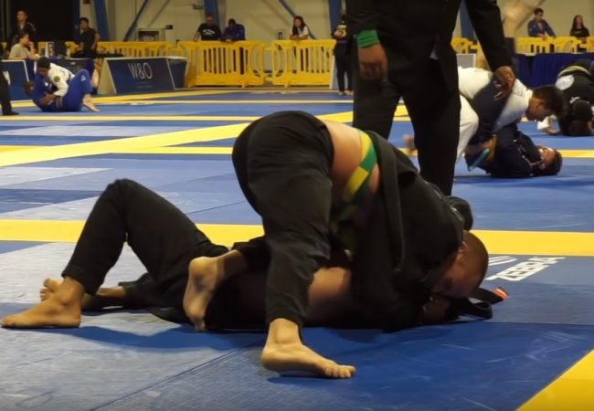 Jiu-Jitsu: Josh Hinger e a pressão do kata-gatame no Long Beach Open