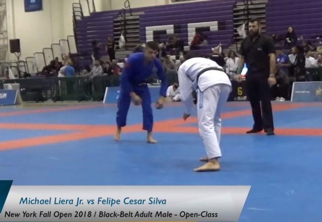 Jiu-Jitsu: A guerra de Michael Liera e Felipinho Cesar no absoluto do New York Open