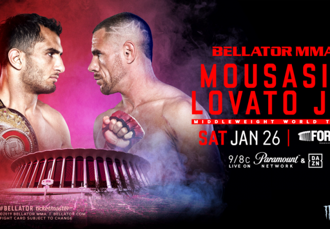Rafael Lovato to take on Gegard Mousasi for Bellator title; Agazarm to debut soon