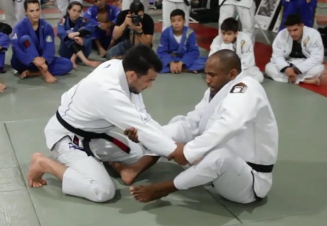 Fernando Tererê teaches an arm drag for taking the back