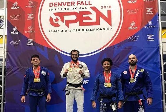 Marcio André conquista primeiro absoluto em ouro duplo no Denver Open de Jiu-Jitsu