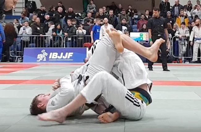 Vídeo: O armlock do triângulo de Espen Mathiesen no Dublin Open de Jiu-Jitsu