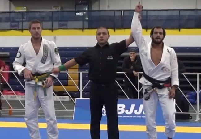 Marcio Andre e a raspagem com armlock que valeu ouro no Denver Open de Jiu-Jitsu