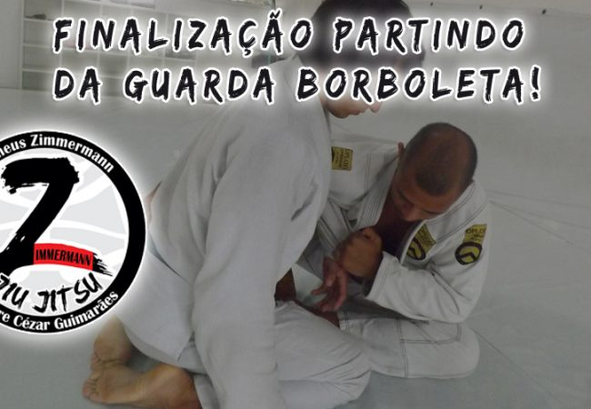 Matheus Zimmermann teaches two finishes from the butterfly guard