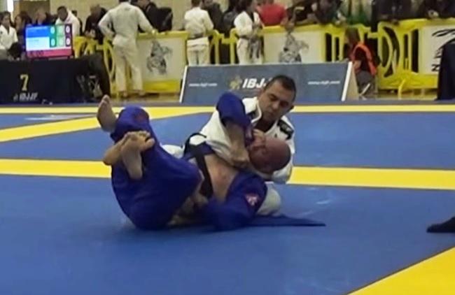 Vídeo: A pressão no ezequiel de Alexandro Ceconi no Austin Open de Jiu-Jitsu