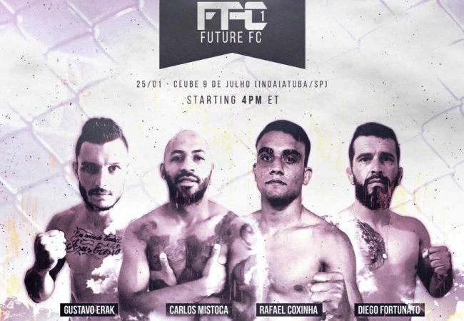 Busca de novos talentos e interatividade marcam estreia do Future FC MMA