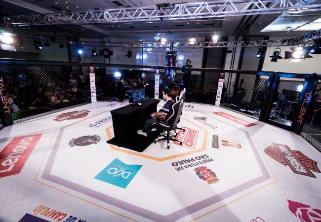 MMA e jogos de videogame se unem no cage em São Paulo