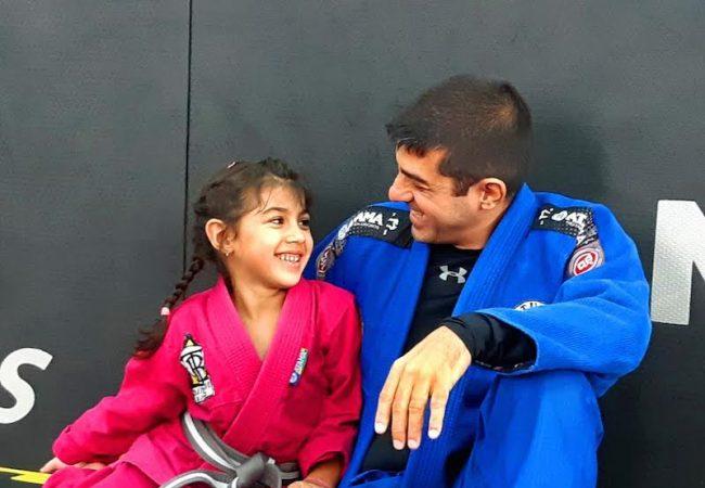 Dudu Osorio e filha na Nova Geracao
