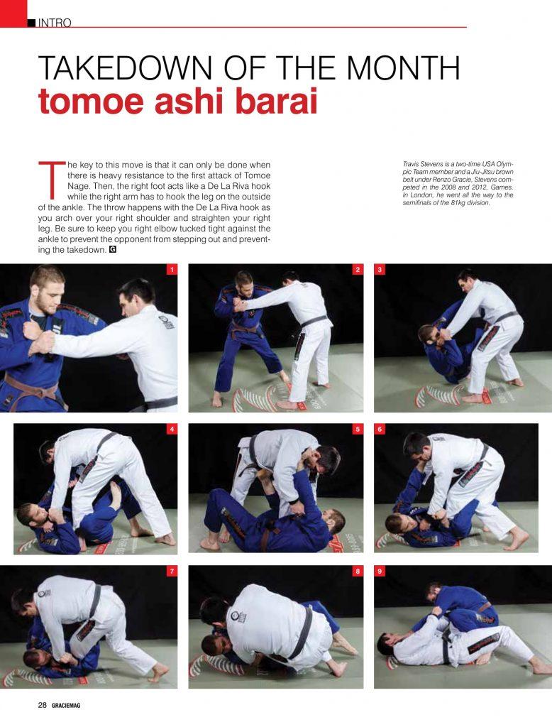 Takedown combo: Learn the tomoe ashi barai and the sumi
