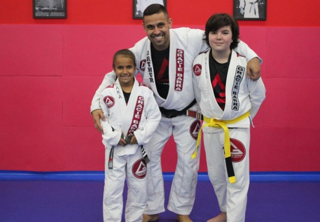 Conheça os benefícios da prática do Jiu-Jitsu na infância