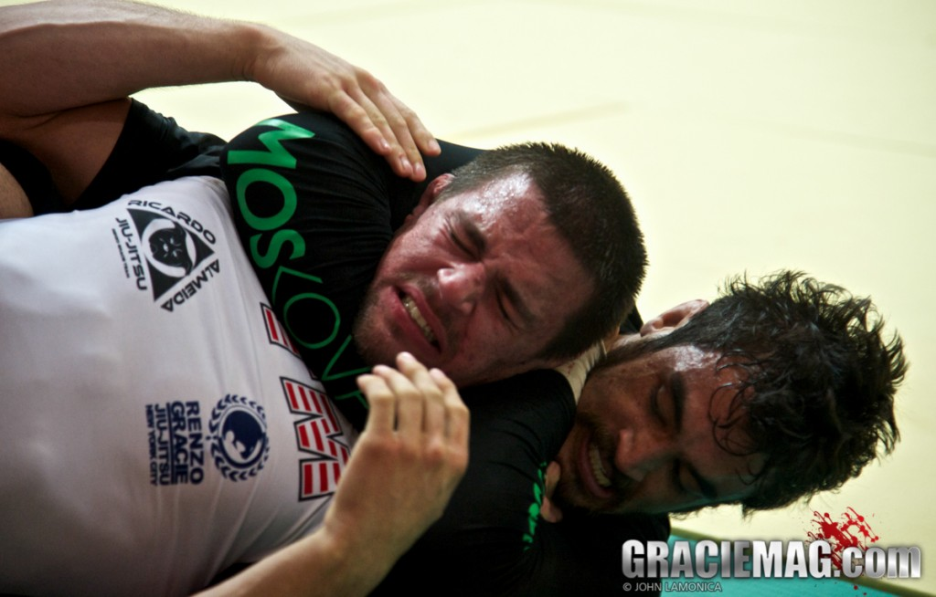 Remember Kron Gracie's rear naked choke on Garry Tonon from