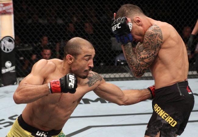 Vídeo: José Aldo revê e analisa lance da vitória sobre Moicano no UFC Fortaleza