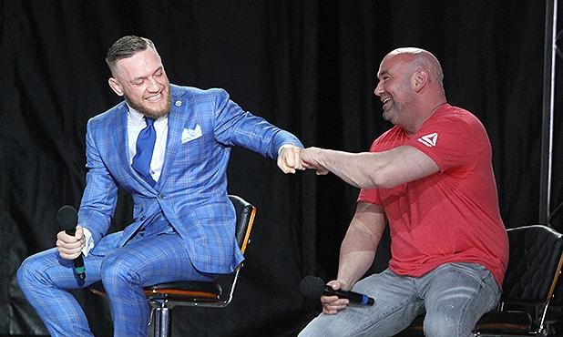 "Conor McGregor anuncia aposentadoria e Dana White ""assina embaixo"""