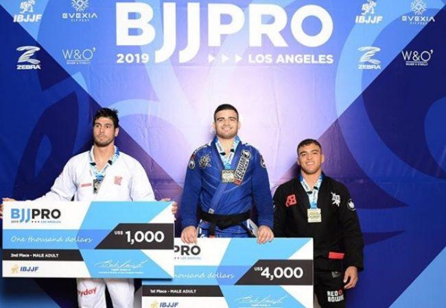 LA BJJ Pro: Kennedy, Jaime, Batista, Helton e Luiza são premiados