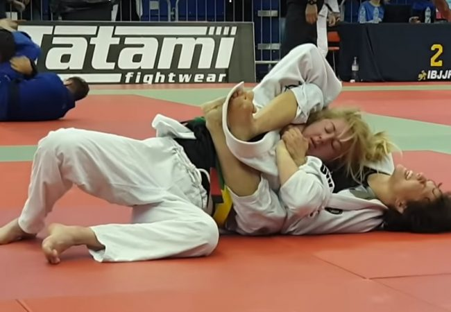 Gabi Fechter's choke for absolute gold at the London Open