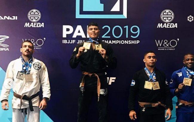 Pan 2019: Victor Hugo e Gabi Pessanha reinam com ouro duplo na faixa-marrom