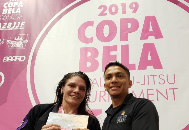 MMA fighter uses takedown to win absolute, earn $ 1,000 at Copa Bela