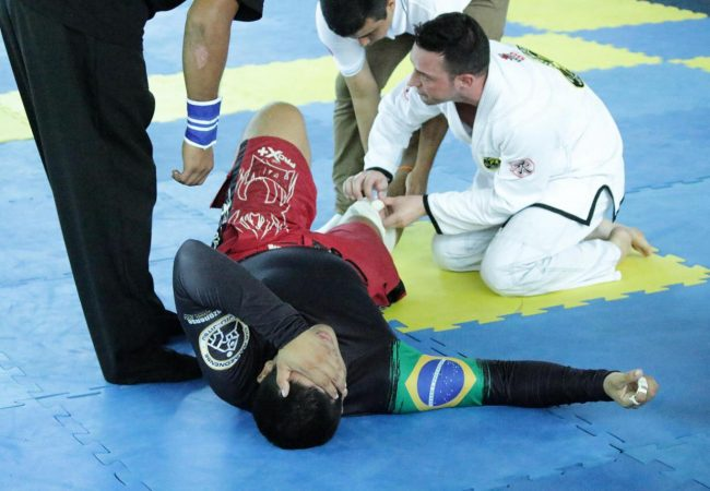 The brown-belt doctor who left his mat to help another fighter