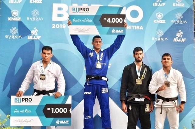 Confira os campeões do Curitiba BJJ Pro de Jiu-Jitsu 2019
