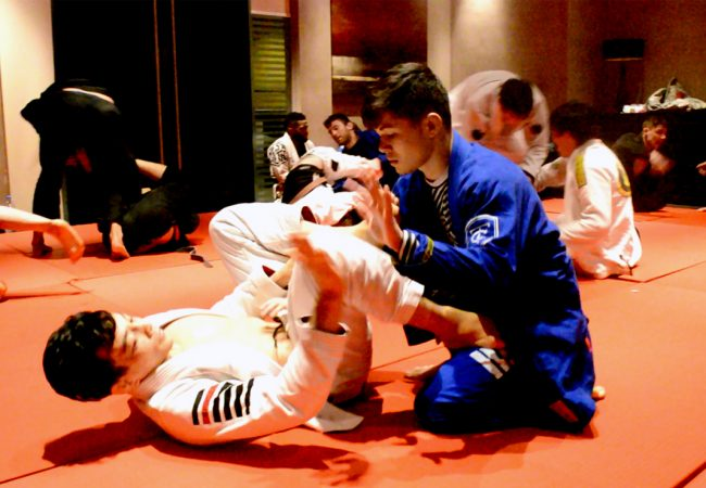 Exclusive video: Paulo Miyao vs. Thalison Soares in an explosive training session in Abu Dhabi