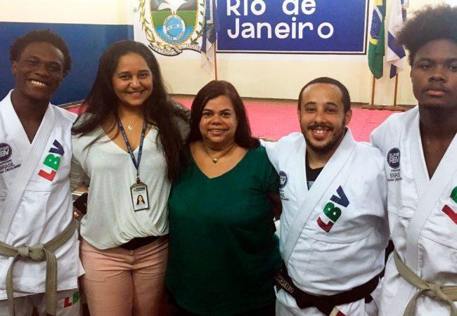 Escola pública aposta no Jiu-Jitsu para combater faltas e evasão de alunos