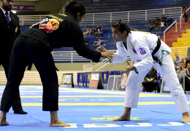 Bia Mesquita's choke for absolute gold at the 2019 Brazilian Nationals